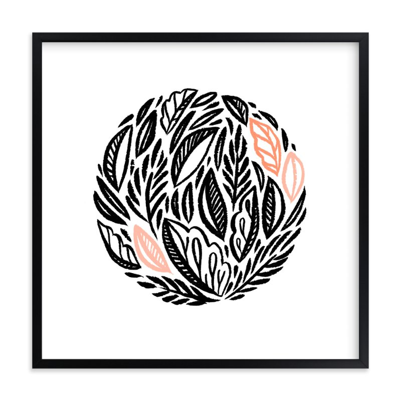 """Circlet"" - Art Print by Paper Raven Co. in beautiful frame options and a variety of sizes."