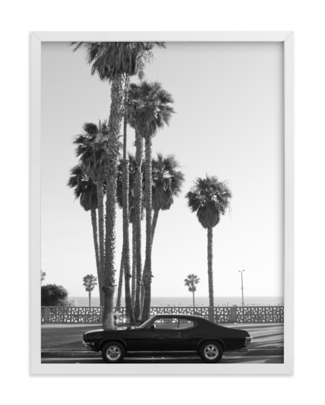 """Ocean Avenue"" - Art Print by Kaitlin Rebesco in beautiful frame options and a variety of sizes."