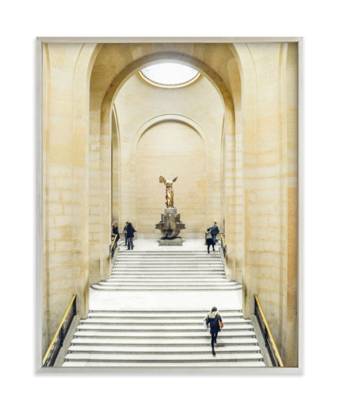 """""""Stairway to Samothrace"""" - Limited Edition Art Print by Kate Baird in beautiful frame options and a variety of sizes."""