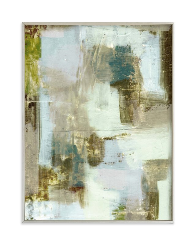 """""""Taupe Abstract"""" - Art Print by Amy Lighthall in beautiful frame options and a variety of sizes."""