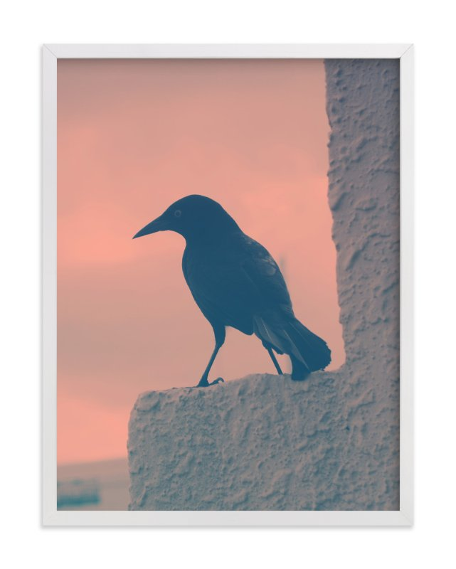 """""""Blackbird"""" - Art Print by Gray Star Design in beautiful frame options and a variety of sizes."""