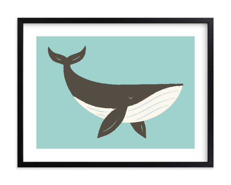 """Ocean Blue"" - Limited Edition Art Print by Bob Daly in beautiful frame options and a variety of sizes."