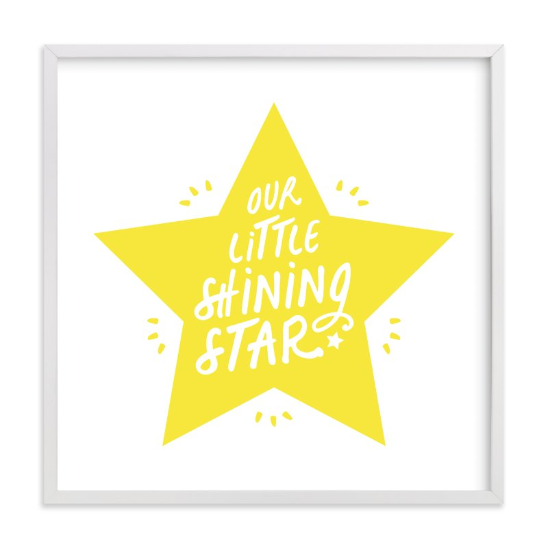 """Shining Star"" - Limited Edition Art Print by Christina Novak in beautiful frame options and a variety of sizes."