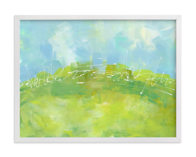 """A Beautiful Day"" - Art Print by Laura Bolter Design in beautiful frame options and a variety of sizes."