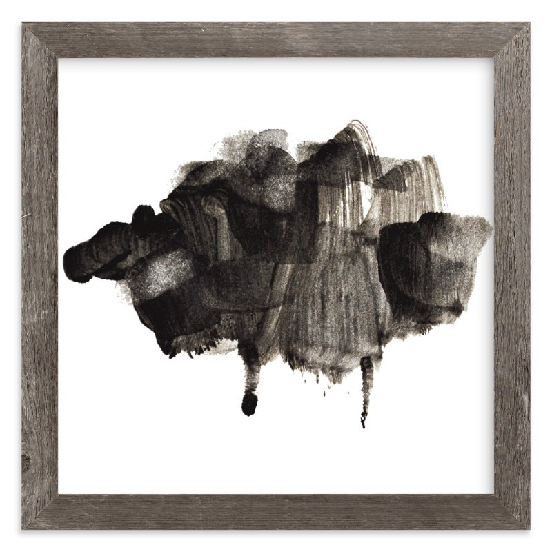 """""""Black Sheep"""" - Art Print by Lady Noble in beautiful frame options and a variety of sizes."""