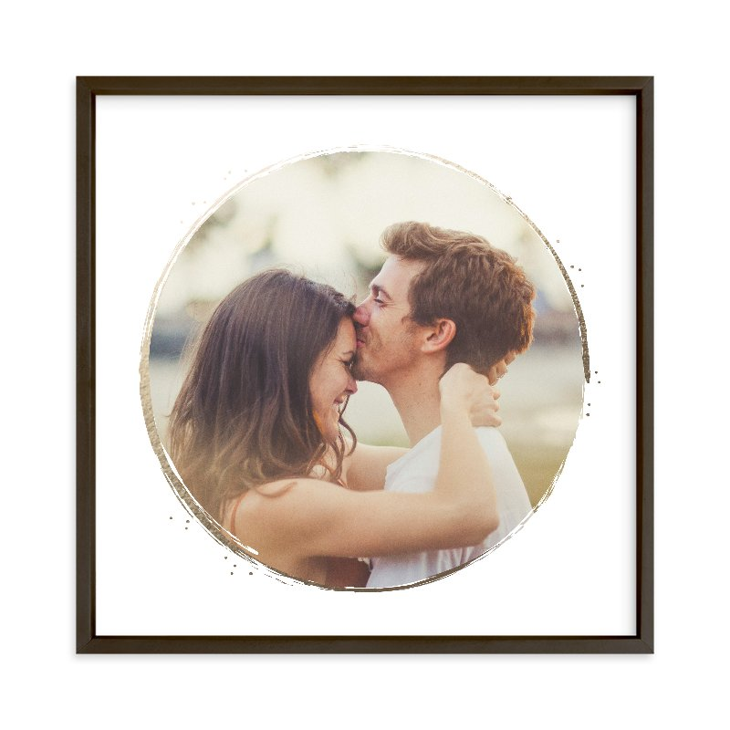 """""""Lightly Gilded"""" - Foil Pressed Photo Art Print by Jessica Williams in beautiful frame options and a variety of sizes."""