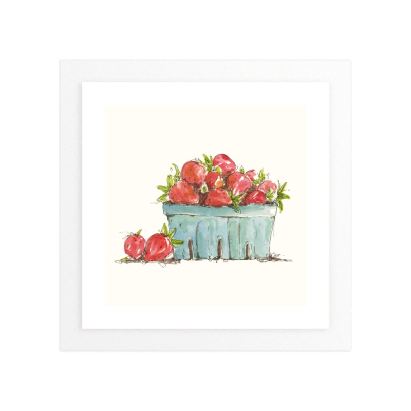 Fresh Berries Wall Art Prints By Kirby Lee Smith Minted