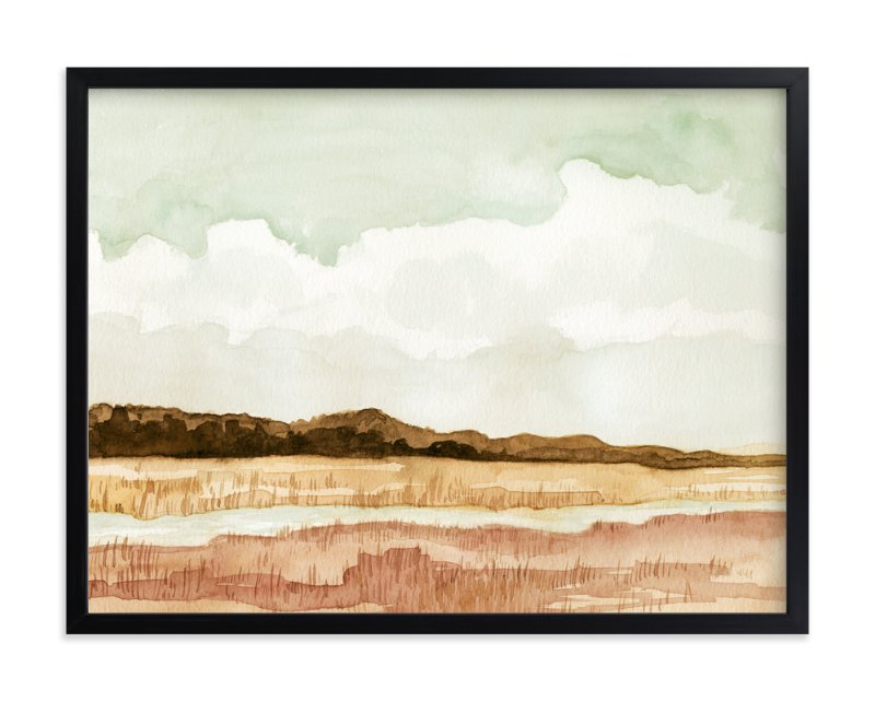 """Wetland"" - Art Print by Field and Sky in beautiful frame options and a variety of sizes."