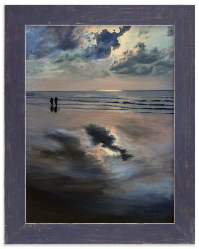 """""""Warm Water"""" - Art Print by Robert Deem in beautiful frame options and a variety of sizes."""
