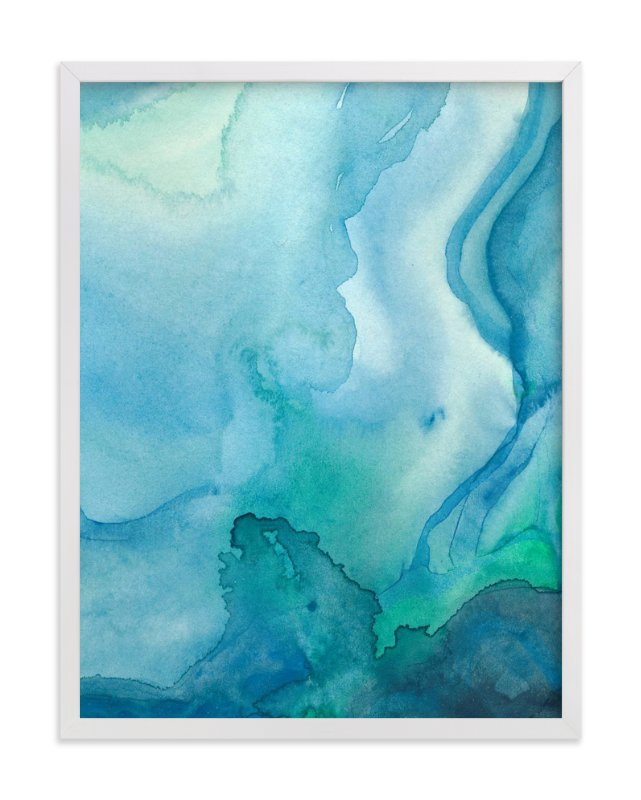 """Under Water"" - Art Print by Chelsey Scott in beautiful frame options and a variety of sizes."