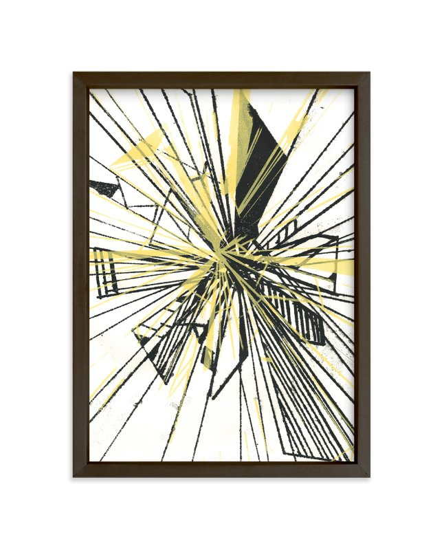 """Subsection Reflection"" - Art Print by Angela Simeone in beautiful frame options and a variety of sizes."
