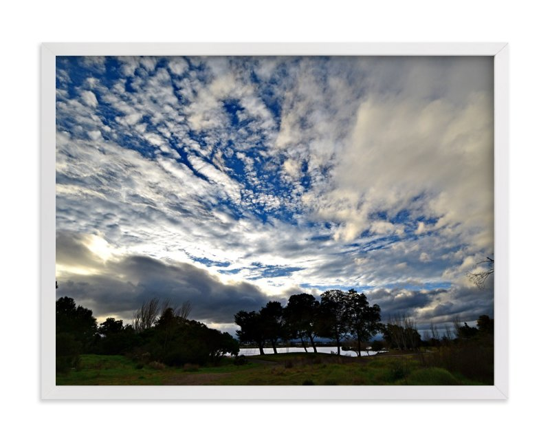 """""""Sky above us-8"""" - Art Print by NSMARK in beautiful frame options and a variety of sizes."""