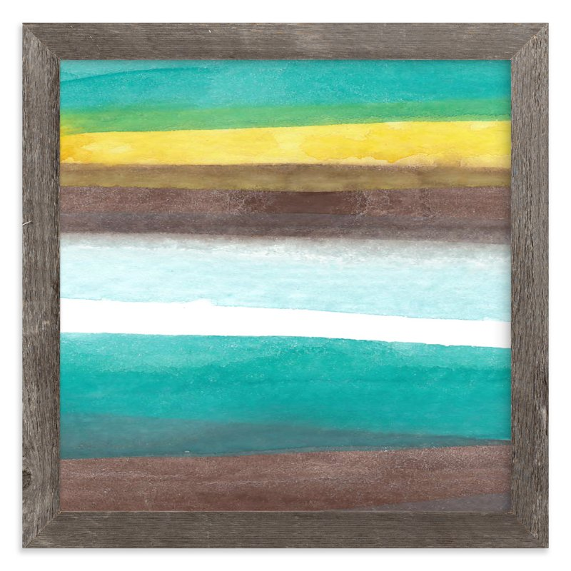 """""""Layers"""" - Art Print by Chelsey Scott in beautiful frame options and a variety of sizes."""