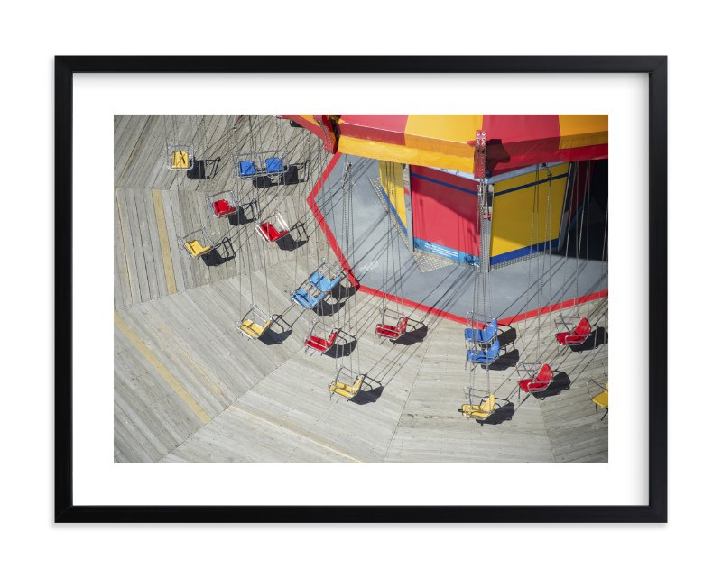 """""""Swings in Spring"""" - Limited Edition Art Print by Caitlyn Zientara in beautiful frame options and a variety of sizes."""