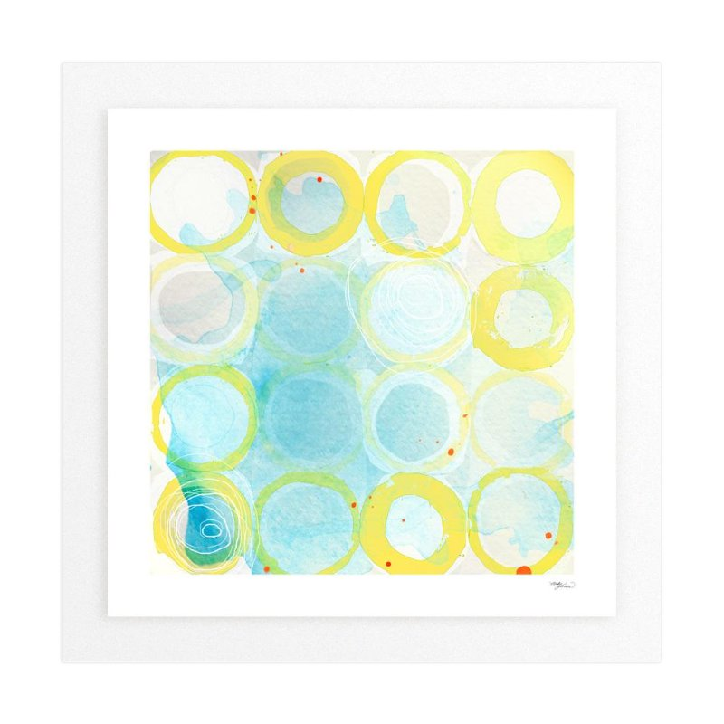 Paint Rings 02 Wall Art Prints By Gleaux Art Photo Design