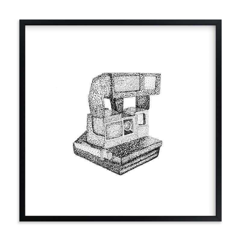 """Polaroid Picture"" - Art Print by Alexandrea Miller in beautiful frame options and a variety of sizes."