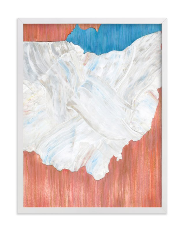 """""""Ohio in Paint"""" - Limited Edition Art Print by Denise Wong in beautiful frame options and a variety of sizes."""