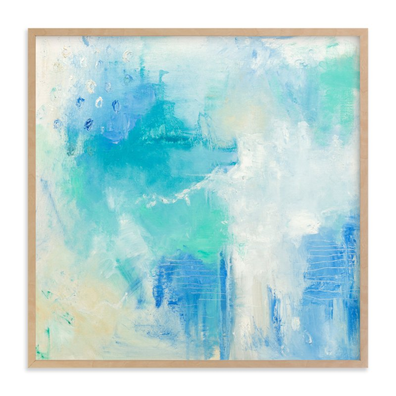 """""""Oceanside"""" - Art Print by Katherine Roberts in beautiful frame options and a variety of sizes."""