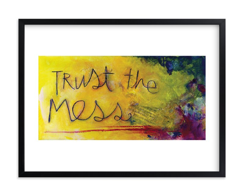 """""""The Mess"""" - Limited Edition Art Print by Emily Hinckley in beautiful frame options and a variety of sizes."""