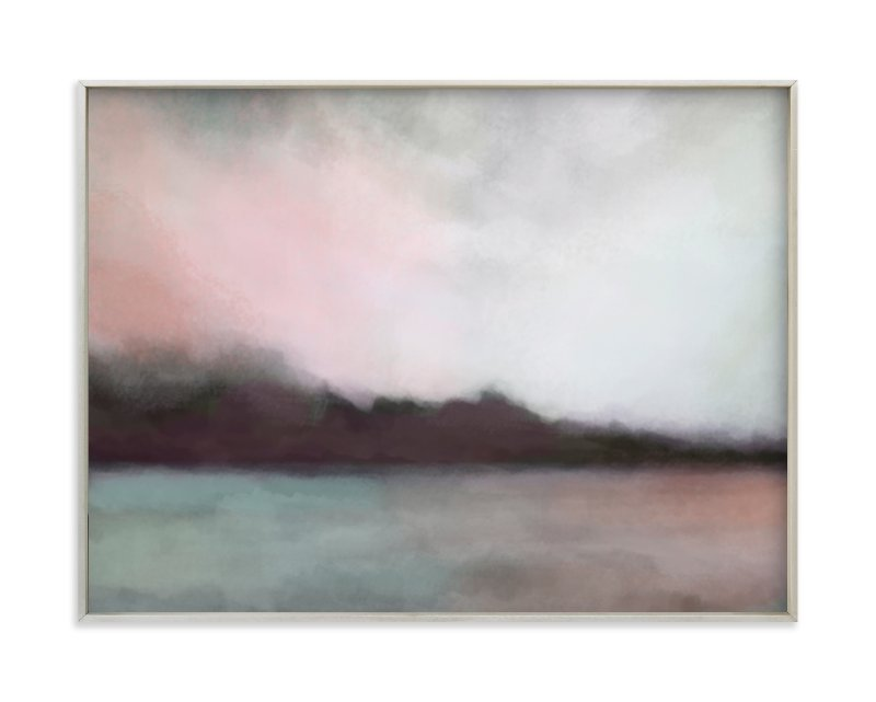 """Cascade Harbor"" - Limited Edition Art Print by Alison Jerry Designs in beautiful frame options and a variety of sizes."