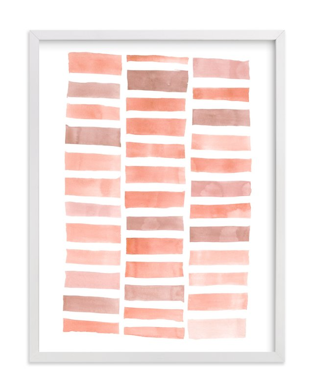 """Stacks #2"" - Art Print by Kelly Nasuta in beautiful frame options and a variety of sizes."
