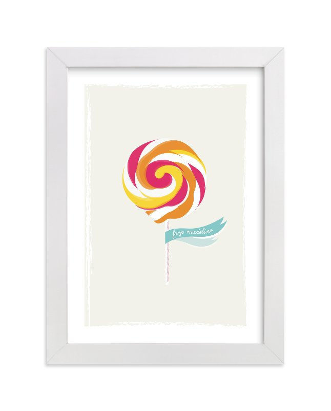 """Lickety Split"" - Nursery Custom Art Print by Stacey Meacham in beautiful frame options and a variety of sizes."