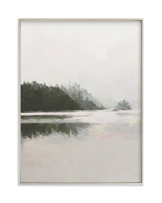 """LakeView II"" - Art Print by Amy Hall in beautiful frame options and a variety of sizes."