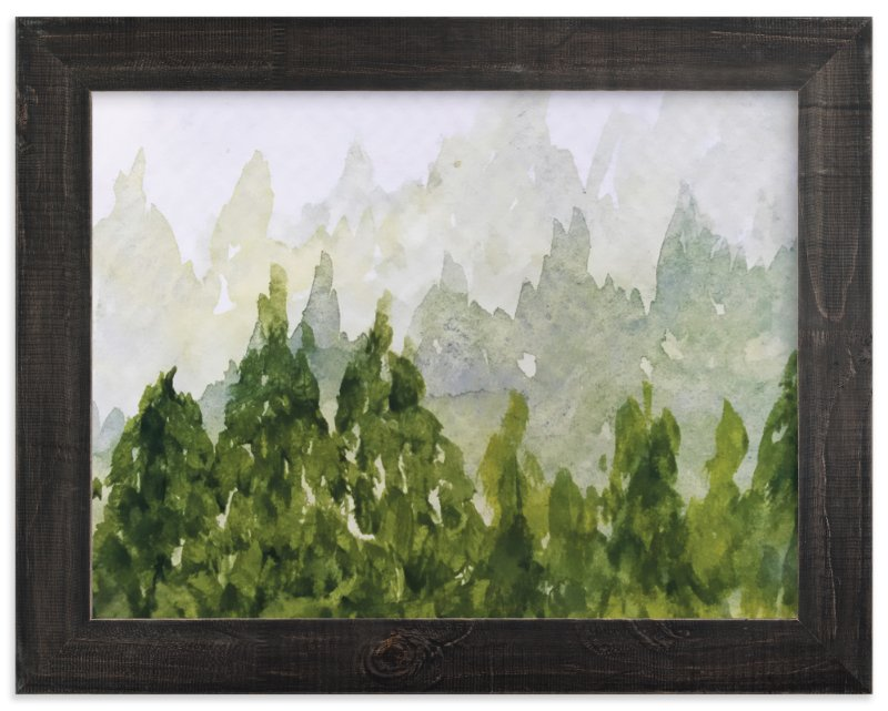 """""""Tree Tops"""" - Art Print by Roopali in beautiful frame options and a variety of sizes."""