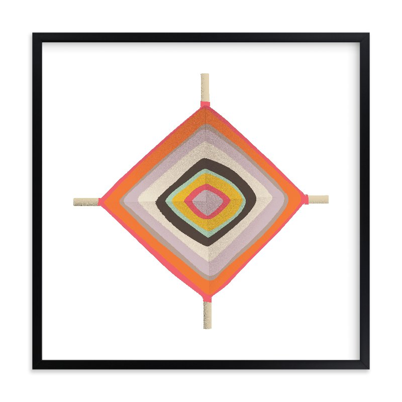 """Ojo"" - Limited Edition Art Print by Yours Madly in beautiful frame options and a variety of sizes."