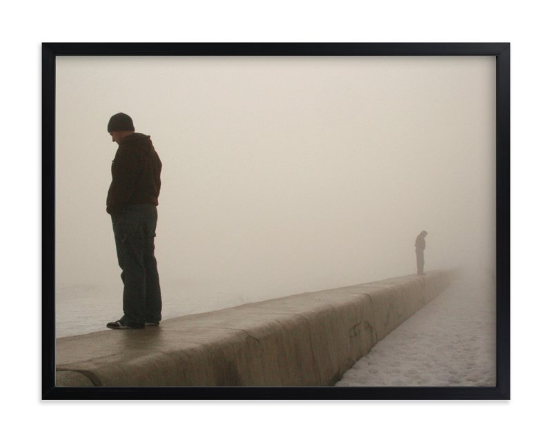 """through the fog"" - Art Print by R studio in beautiful frame options and a variety of sizes."