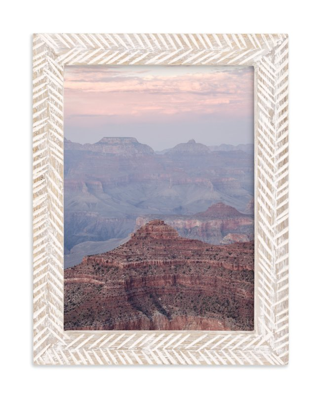 """""""Grand Canyon Blush"""" - Art Print by Kamala Nahas in beautiful frame options and a variety of sizes."""