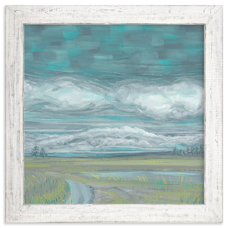 """""""End of The Road View II"""" - Art Print by Heather M. Roberts in beautiful frame options and a variety of sizes."""