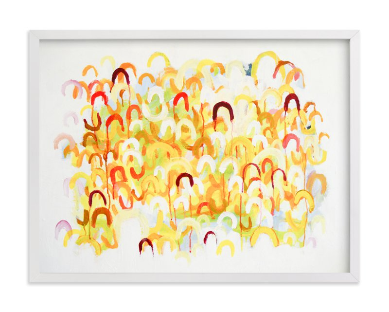 """""""Come Along"""" - Art Print by Nell Waters Bernegger in beautiful frame options and a variety of sizes."""