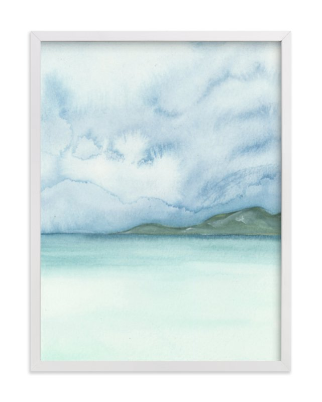 """""""Playa Three"""" - Art Print by Emily Magone in beautiful frame options and a variety of sizes."""