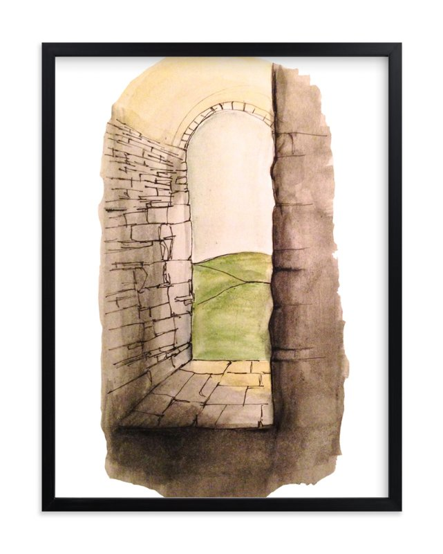 """Window to Italy"" - Art Print by Haley Moore in beautiful frame options and a variety of sizes."