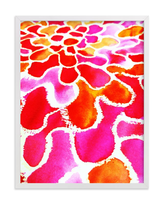 """Colourburst3"" - Art Print by Miranda Mol in beautiful frame options and a variety of sizes."