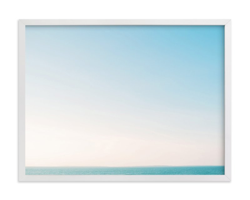 """Martha's Horizon"" - Art Print by Whitney Deal in beautiful frame options and a variety of sizes."