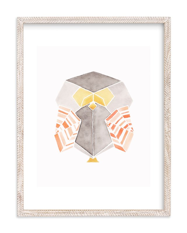 """""""Feathered Folds No.1"""" - Limited Edition Art Print by Monica Cheng in beautiful frame options and a variety of sizes."""