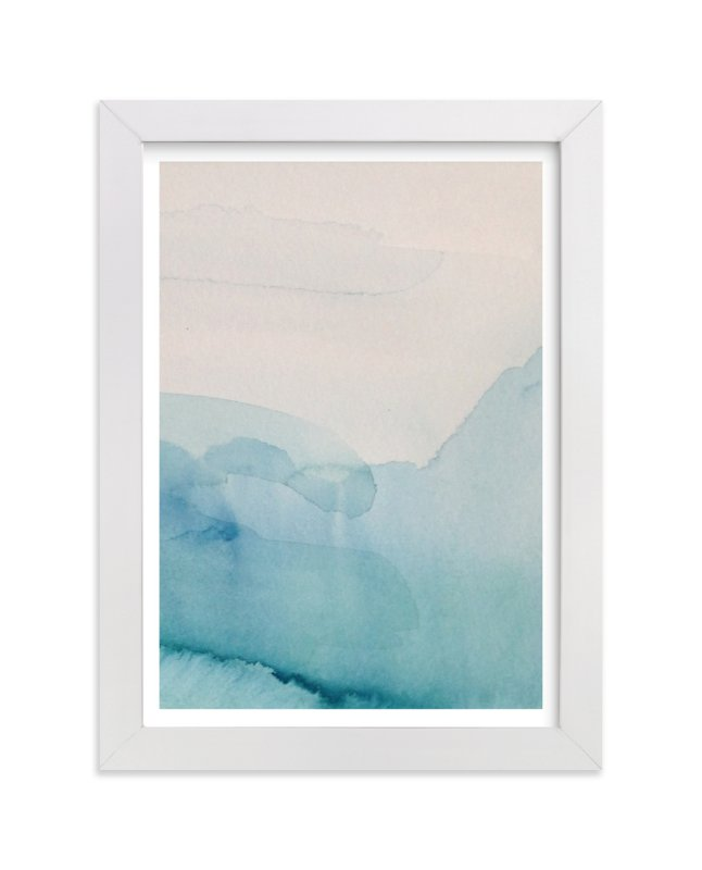 """Lands 1"" - Limited Edition Art Print by Nell Waters Bernegger in beautiful frame options and a variety of sizes."