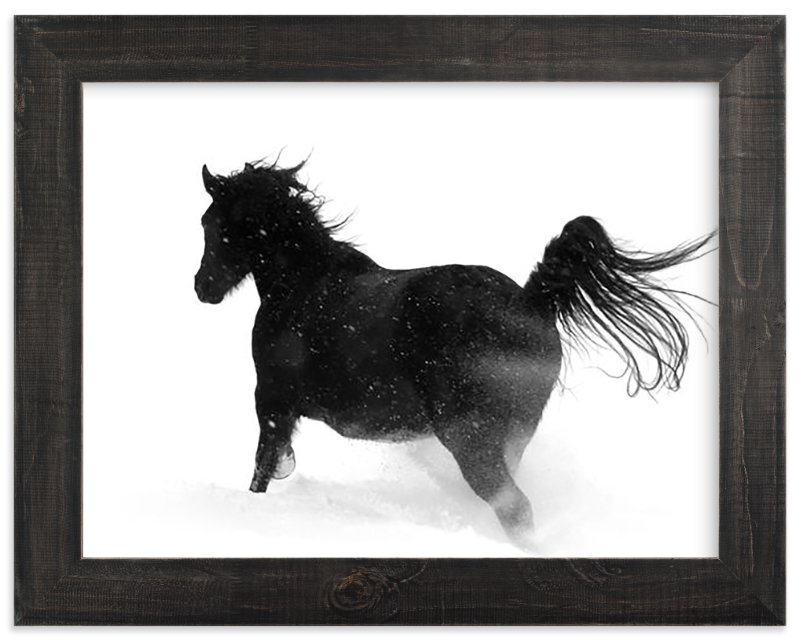 """Thunderstorm"" - Art Print by Leslie Le Coq in beautiful frame options and a variety of sizes."