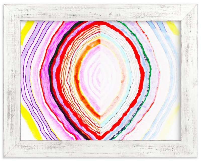 """Great with Agate No 1"" - Art Print by Kristi Kohut - HAPI ART AND PATTERN in beautiful frame options and a variety of sizes."