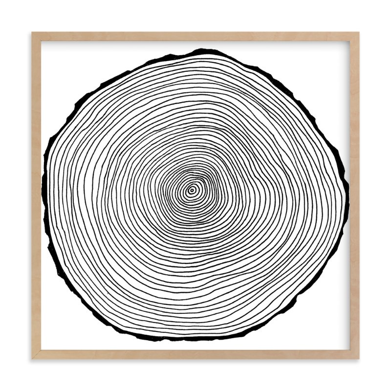 """natura"" - Art Print by trbdesign in beautiful frame options and a variety of sizes."