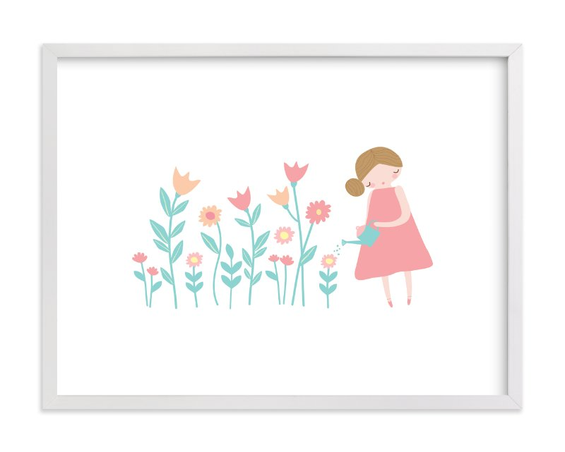 """What A Lovely Day"" - Art Print by Angela Thompson in beautiful frame options and a variety of sizes."