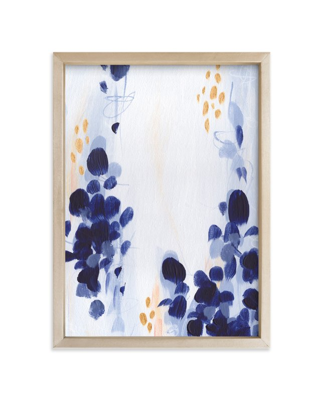 """Bluebonnets I"" - Art Print by Iron Range Artery in beautiful frame options and a variety of sizes."