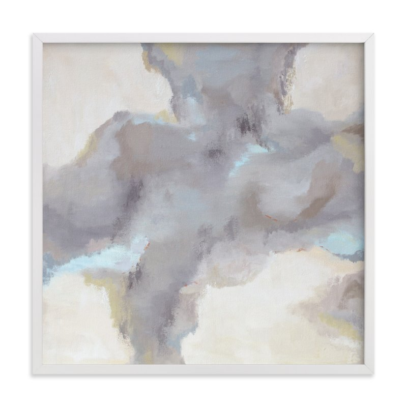 """Cloud View"" - Art Print by Owen Design Studio in beautiful frame options and a variety of sizes."