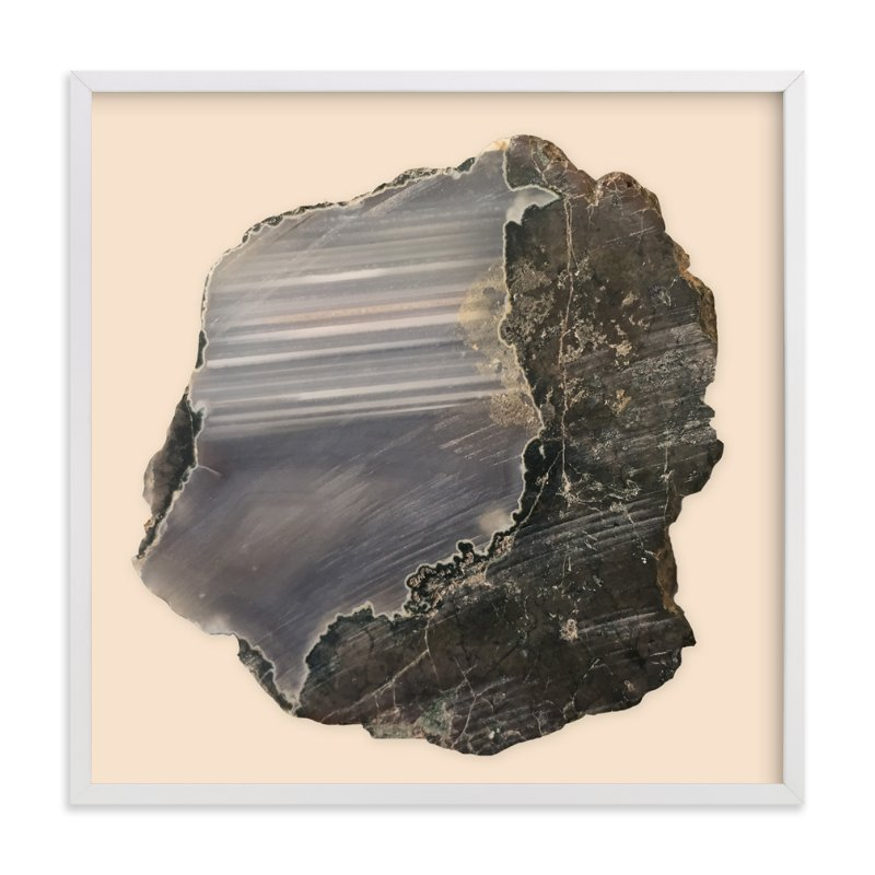 """""""Rock Study 1"""" - Art Print by Baumbirdy in beautiful frame options and a variety of sizes."""