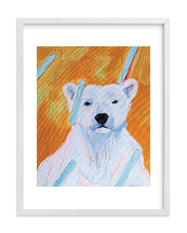 """Polar Rain"" - Limited Edition Art Print by Debra Bianculli in beautiful frame options and a variety of sizes."