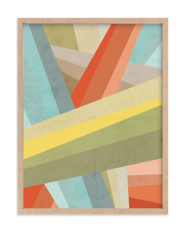 """Woven"" - Art Print by Jennifer Morehead in beautiful frame options and a variety of sizes."