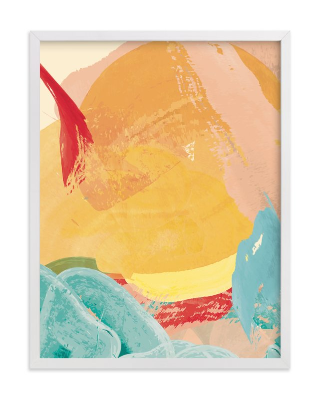 """""""Rhythmic Sunrise"""" - Art Print by Red Impressionz in beautiful frame options and a variety of sizes."""