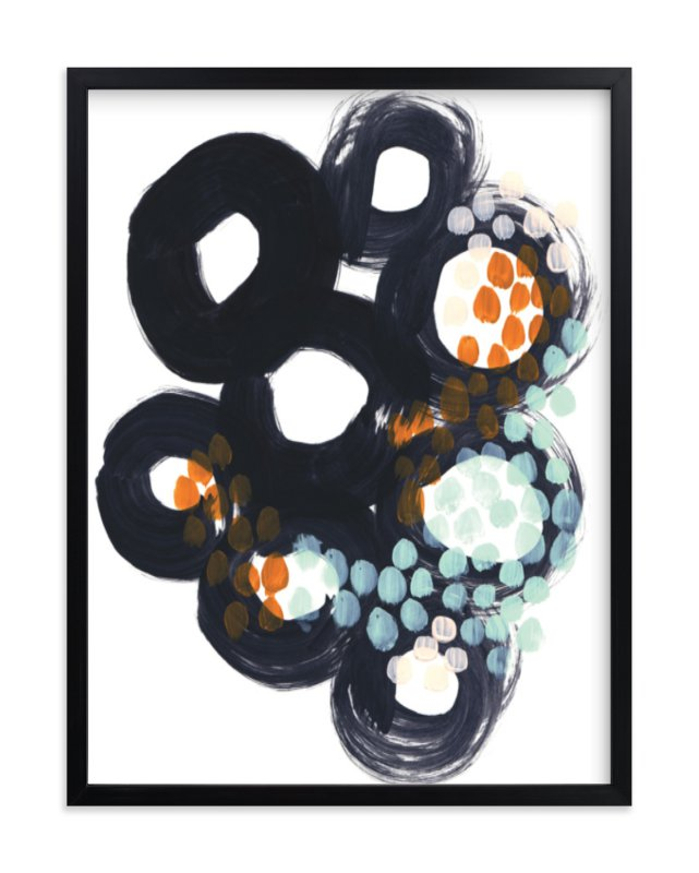 """""""Circles and Dots"""" - Art Print by Alethea and Ruth in beautiful frame options and a variety of sizes."""
